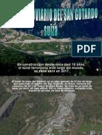 Tunel Ferroviario de San Gotardo-Suiza