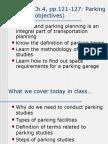 Lec 10 Ch4 Pp122 Parking