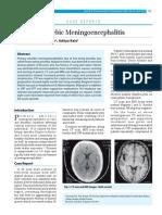 15 Cr Primary Amoebic Meningoencephalitis