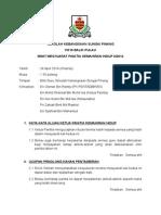 Minit Mesyuarat Panitia Kemahiran Hidup 2 2015