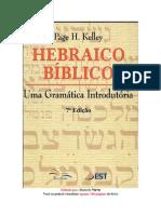 Hebraico Biblico- Uma Gramática Introdutória – Page H. Kelley