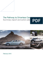 Pathway Driverless Cars Summary