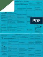 February 2010 Calendar
