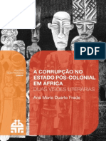 A Corrupção No Estado Pos Colonial Duas Visões Lierarias