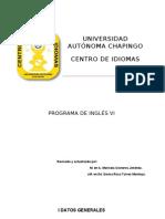 Universidad AutÓnoma Chapingo Centro de Idiomas