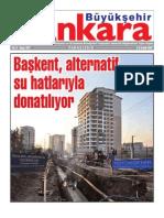 Başkent, Alterbatif Su Hatlarıyla donatılıyor