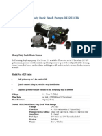 Heavy Duty Deck Wash Pumps 04325343A