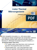Destruksi Thermal Mikroorganisme