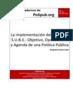 SUBE - Política Pública