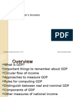 1. Measuring National Income