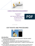 HRM03_Exit Rights and Procedures_11 April 2015