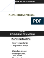 Teori Pembelajaran PSV Konstruktivisme