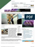 NYT's Prenatal Homeless Yoga