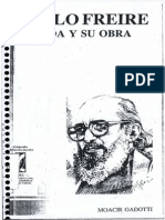 Paulo Freire Su Vida y Su Obra