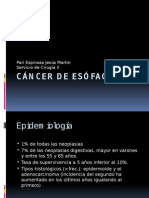 Cancer de Esofago 2014 Expo