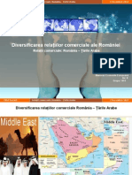Relatii Comerciale Romania-Tarile Arabe