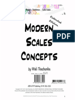 Major Minor Pentatonics From MODERN SCALES CONCEPTS - Extended Edition