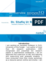 Overview of Nvivo 10