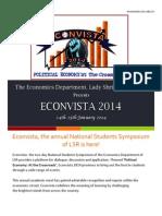 Econvista14 Flyer
