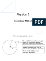 9 Physics 2 Rotational Motion