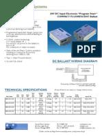 Ballast Cut Sheet CFL Lamp 01152010