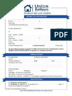 Contrat de Location Vide Version PDF