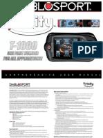 Diablo T1000 Manual