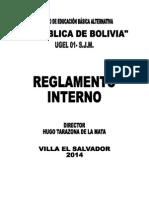 Reglamento Interno Ceba 2015