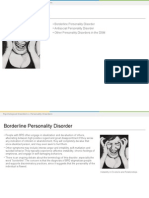 personality disorders lesson plan