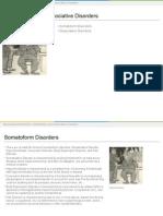 somatoform&dissociative disorders lesson plan