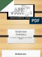 Síndrome Nefrítico y Síndrome Nefrótico