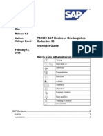 SAPB1 9 TB1000 96 Instructor Guide
