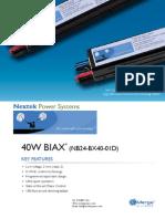 (NB24-BX40-01D) specsheet 01152010