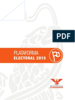 Plataforma Electoral 2015