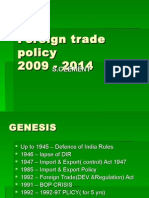 Foreign Trade Policy 1