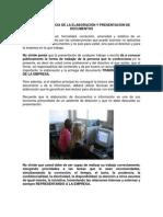 La Importancia de La Elaboración y Presentación de Documentos