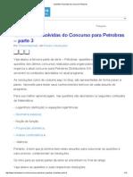 Questões Resolvidas Do Concurso Petrobras