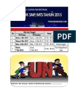Pengumuman UN SMP 2015 Ok