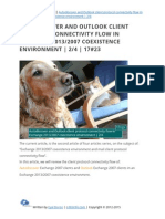 Autodiscover and Outlook client protocol connectivity flow in Exchange 2013/2007 coexistence | 2/4 | 17#23