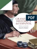 Gramatica Historica Espanol 1eas Págs