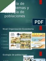 Ecología de Sistemas y Ecología de Poblaciones