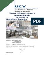 Diseño e infraestructura de un servicio de alimentación
