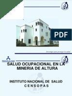 Salud Ocupacional en La Mineria de Altura