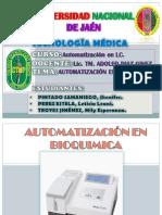 Automatización en Bioquimica