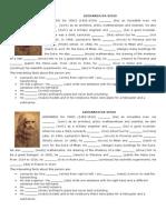 Biographies Da Vinci and Presley