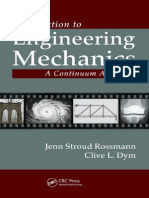 0-Cover & Table of Contents - Introduction to Engineering Mechanics