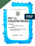 Pisa y la evaluación peruana