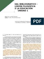 Material Bibliográfico - Unidad 1 - Reflexión Filosófica - Inicial