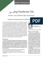 Sampling Transformer Oils