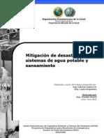 Mitigacion de Desastres en Sistemas de Agua Potable y Saneamiento - Guia